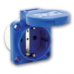 PCE beépíthető HT dugalj kék