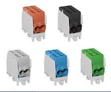 Pollmann Minimodular HLAK35-1/2 M2 fővezeték soroló elem Zöld-Sárga 35mm2
