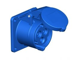 PCE dugalj beépíthető 16A 3p 230V IP44