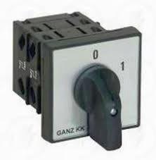 KK0-20-6002 ki-be kapcsoló 0-1 állású 20A 3p installációs szekrénybe építhető kivitel