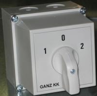 KKM1-32-6008 irányváltó kapcsoló 1-0-2 állású 32A 3p tokozott IP65