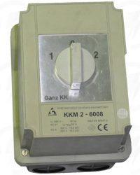 KKM2-63-6008 irányváltó kapcsoló 1-0-2 állású 63A 3p tokozott IP65