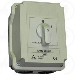 KKM3-100-6002 ki-be kapcsoló 0-1 állású 100A 3p tokozott IP65