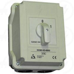 KKM3-100-6008 irányváltó kapcsoló 1-0-2 állású 100A 3p tokozott IP65