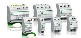 RESI9 áram-védőkapcsoló, AC osztály, 2P, 25A, 30mA