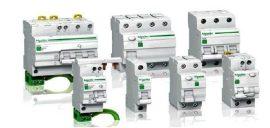 RESI9 áram-védőkapcsoló, AC osztály, 4P, 25A, 30mA